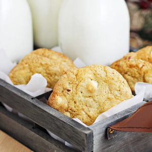 White Chocolate & Ginger Chip Cookies Recipe
