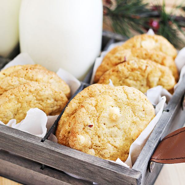 White Chocolate and Ginger Chip Cookies Recipe