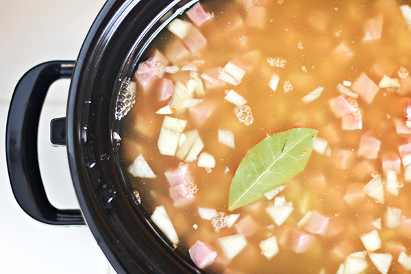 Slow Cooker Split Pea Soup Recipe 4