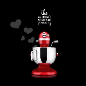 Valentine's Day KitchenAid Giveaway (enter by 2/10)