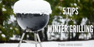 5 Winter Grilling Tips