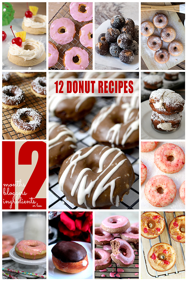 12 Donut Recipes from 12Bloggers