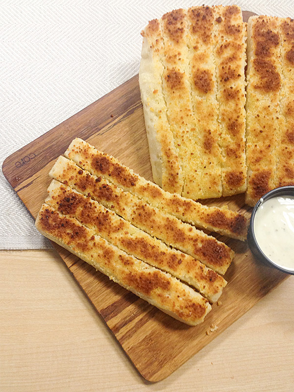 Soft Parmesan Breadsticks at Chuck E Cheeses 2