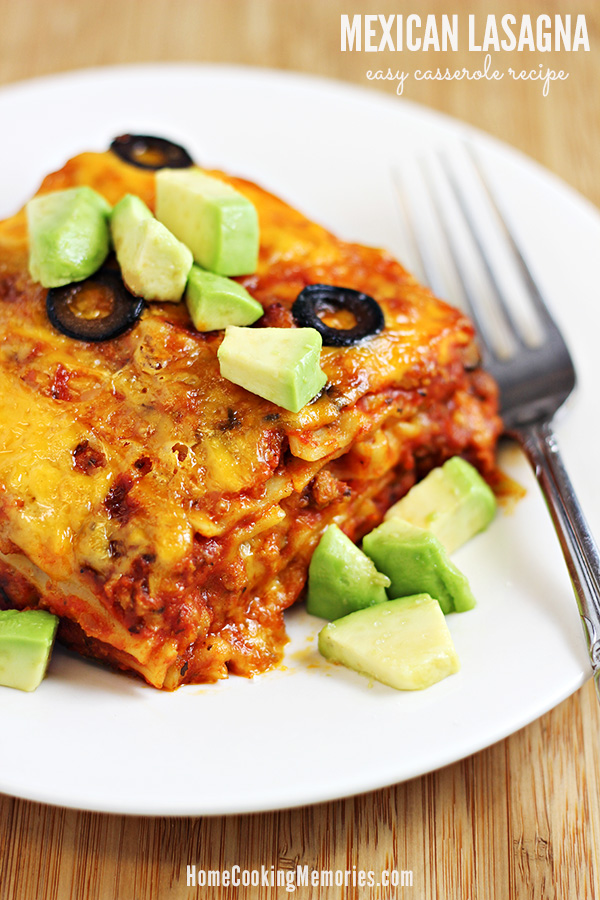 Easy Casserole - Mexican Lasagna Recipe