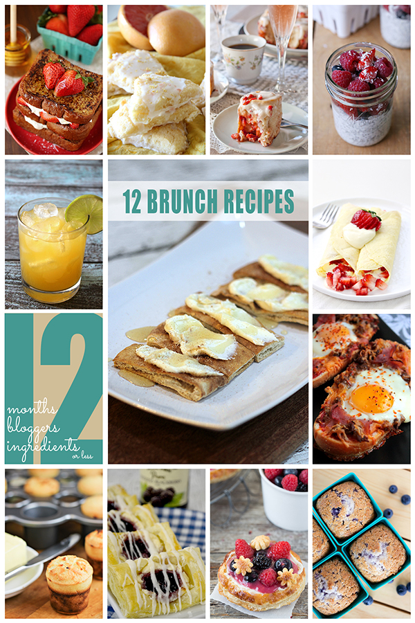 12 Brunch Recipes from 12Bloggers 1