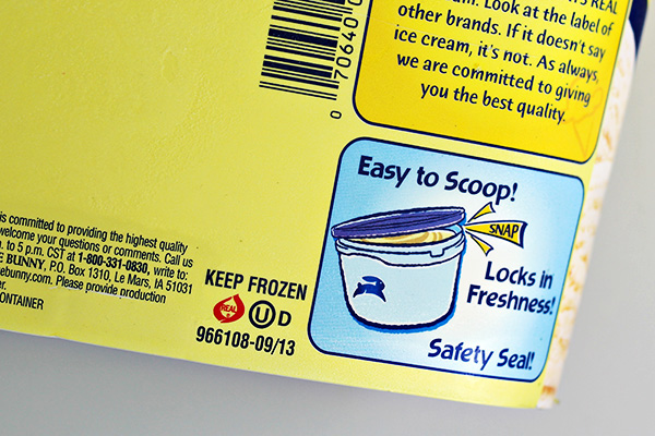 REAL Seal Ice Cream