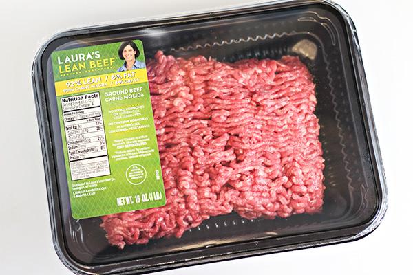 Mexican Lettuce Wraps - Lauras Lean Beef