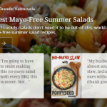 Very Best Mayo-Free Summer Salads