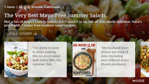 The Very Best Mayo-Free Summer Salads