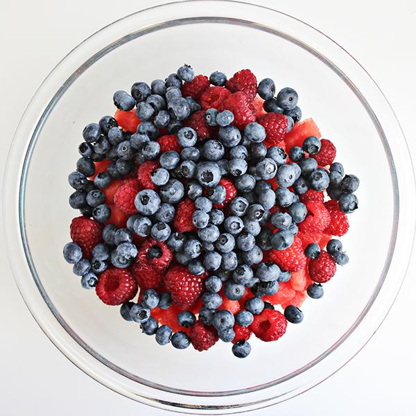 Summer Fruit Salad with Cinnamon-Honey Syrup 15