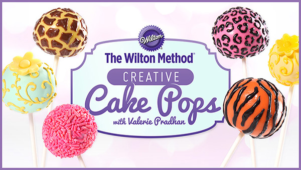 Free Online Cooking Class: Wilton Creative Cake Pops