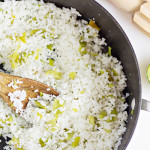 Easy Side Dishes - Hatch Chile Rice Recipe