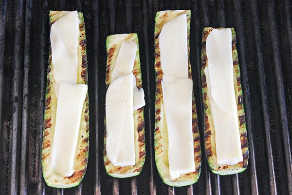 Grilled Caprese Zucchini Boats 11