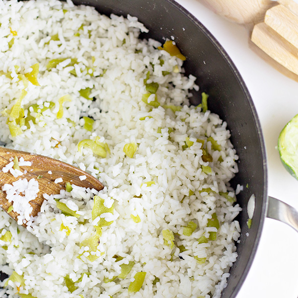Easy Side Dish: Hatch Chile Rice
