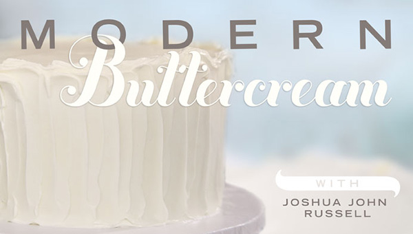 Free Online Cooking Class: Modern Buttercream