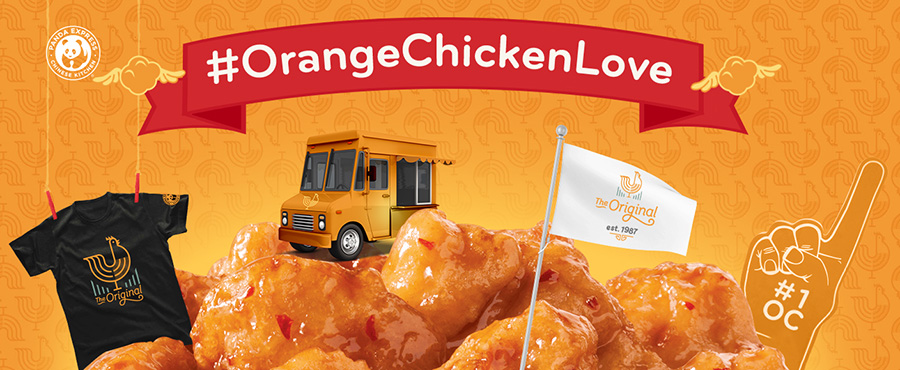 Panda Express Food Truck - Orange Chicken Love
