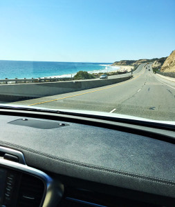 2016 Kia Sorento on Pacific Coast Highway