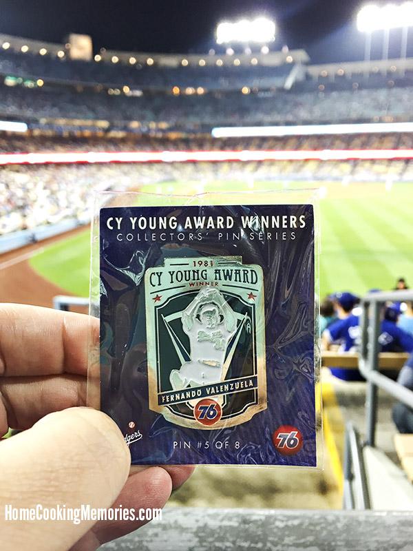 Los Angeles Dodgers Collector Pin - Fernando Valenzuela
