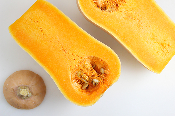 Butternut Squash - cut open