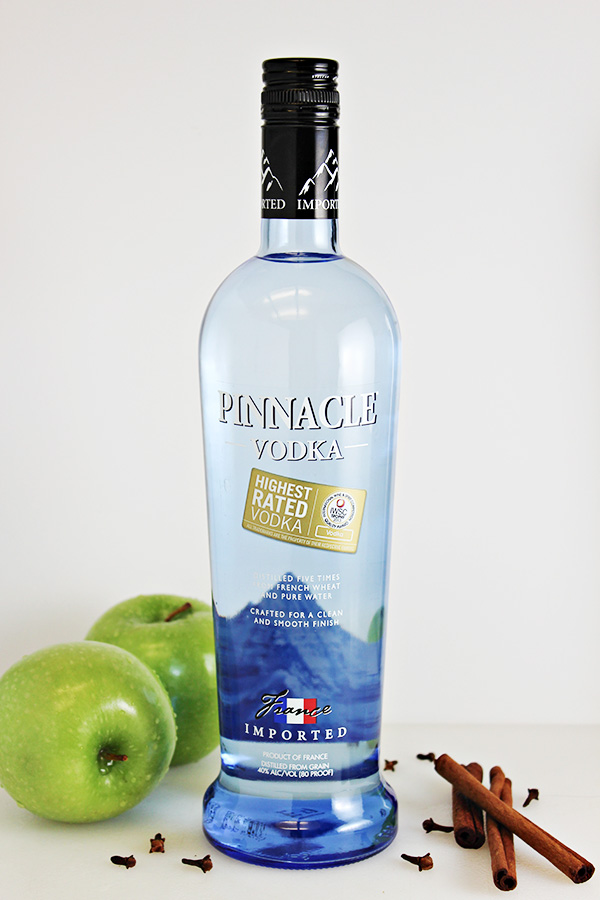 Original Pinnacle Vodka for Spiced Apple Moscow Mule Cocktail Recipe