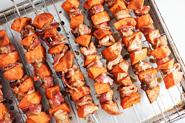 Spiced Sweet Potato Skewers Recipe 8