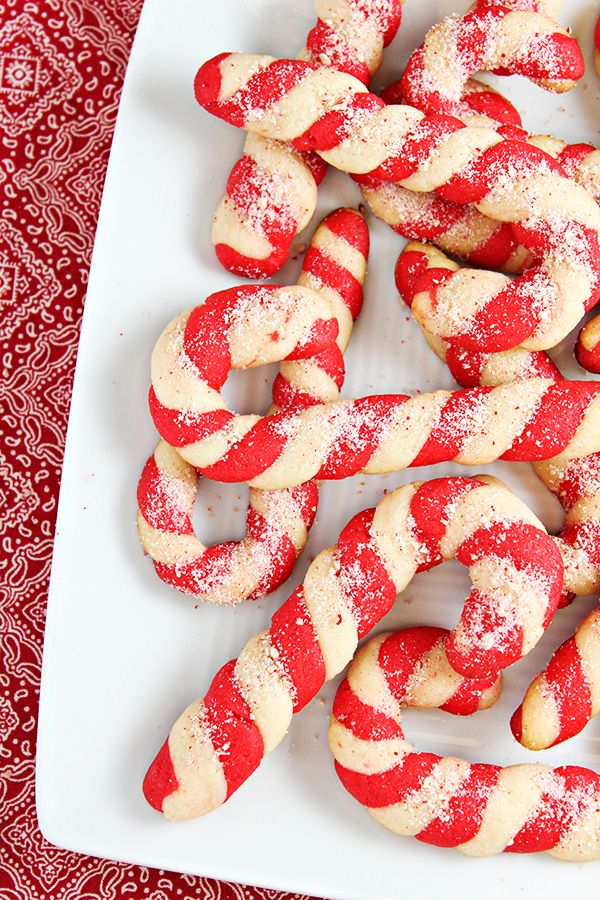 Christmas Candy Cane Cookies Recipe Home Cooking Memories