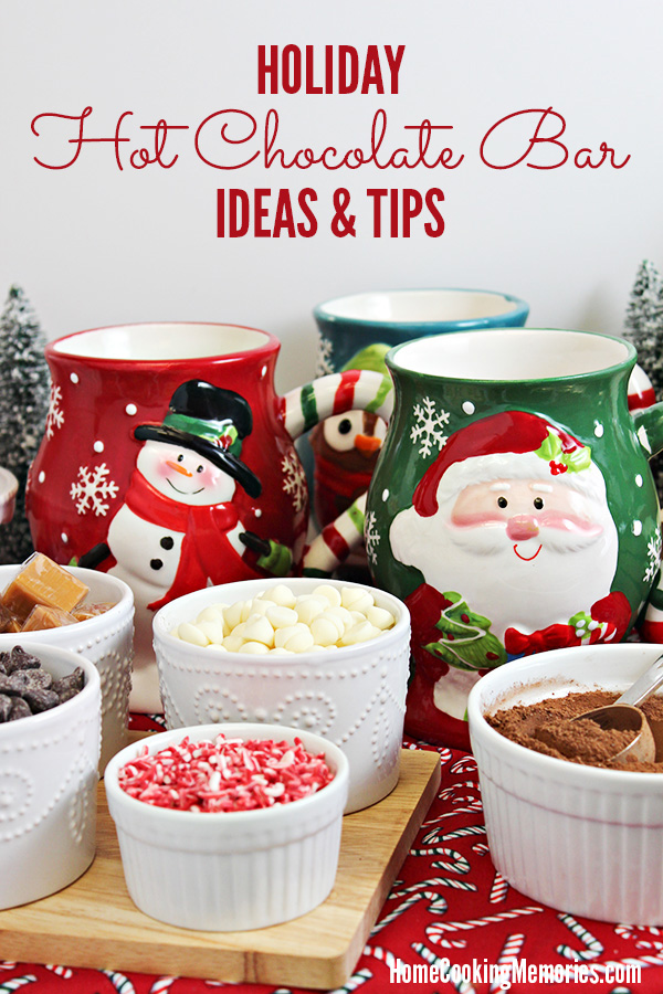 Diy holiday hot chocolate bar ideas tips home cooking memories diy holiday hot chocolate bar ideas and tips forumfinder Choice Image