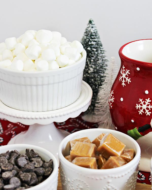 DIY Hot Chocolate Bar - Marshmallows