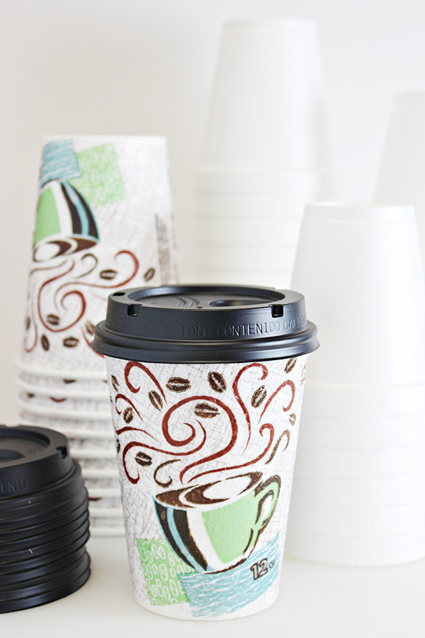 DIY Hot Chocolate Bar - Disposable Cups