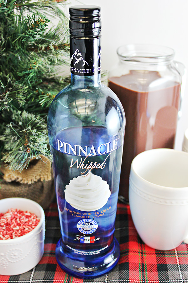 Peppermint whipped vodka hot chocolate recipe home cooking memories peppermint whipped vodka hot chocolate recipe sisterspd