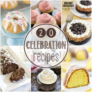 20 Awesome Dessert Recipes for Celebrations + GIVEAWAY!