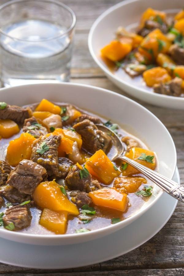 BEEF AND BUTTERNUT SQUASH STEW by Tea & Biscuits