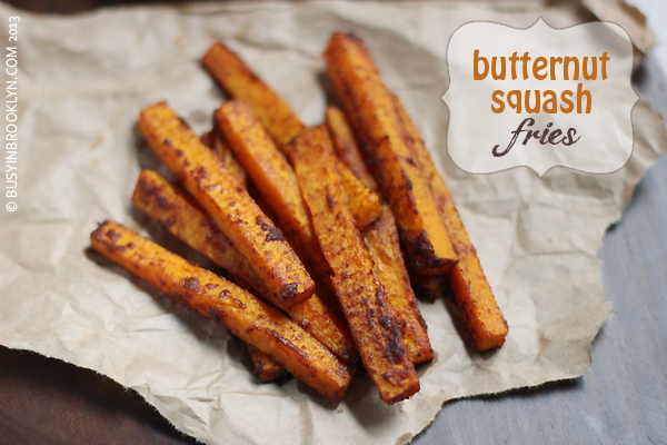 Butternut Squash Fries by Busy in Brooklyn