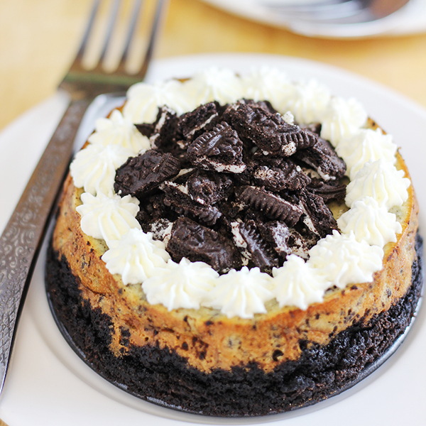 Oreo Cheesecake for Two Recipe