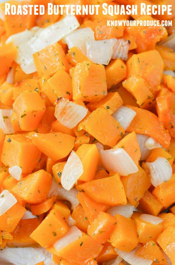 Roasted Butternut Squash Recipe by Know your Produce