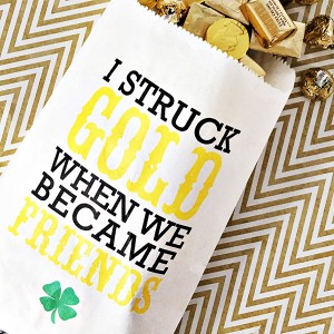 St Patrick's Day Gift Idea with Free Printable