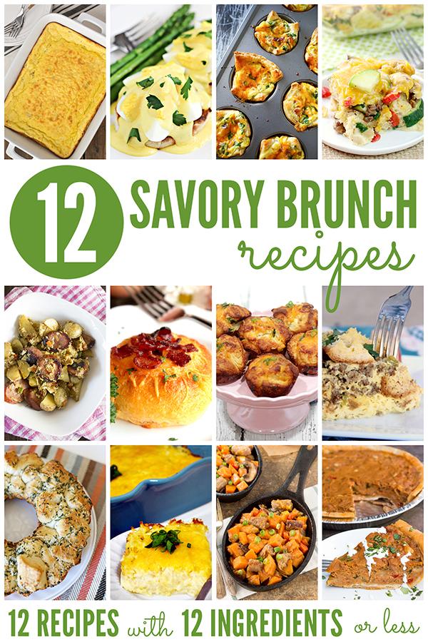 12 Savory Brunch Recipes
