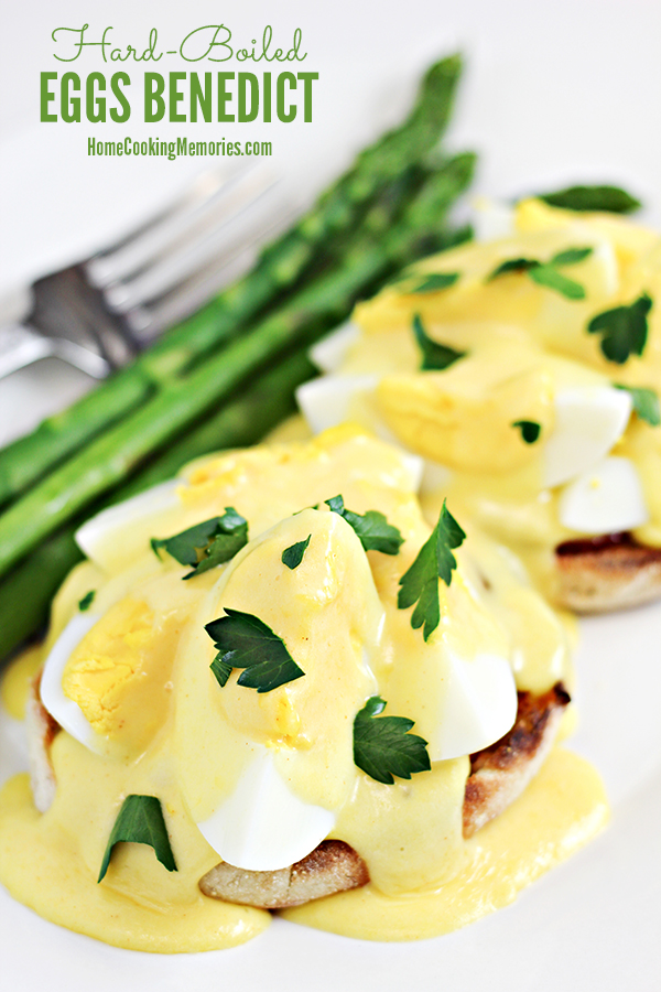 Hard Boiled Eggs Benedict Recipe