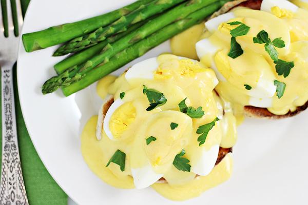Boiled Eggs Benedict Recipe