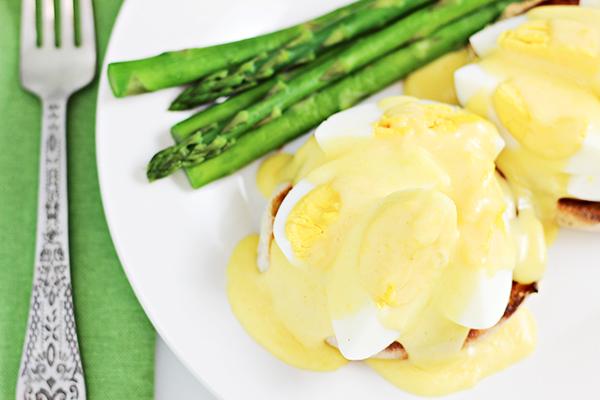 Hard Boiled Eggs Benedict Recipe