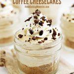 Easy No-Bake Coffee Cheesecakes Recipe