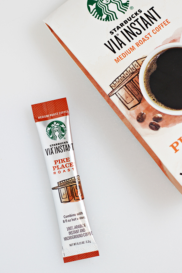 Starbucks Via Instant Coffee