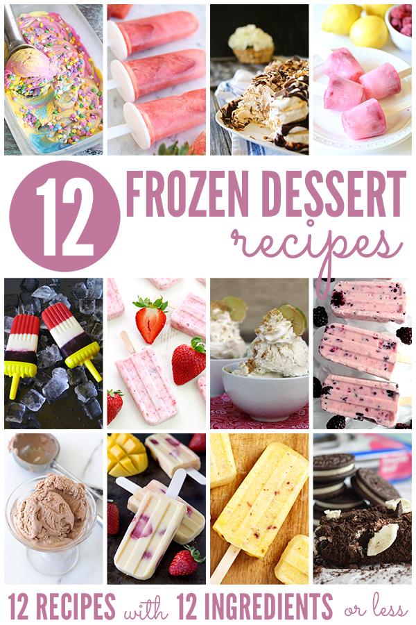 12 Frozen Dessert Recipes
