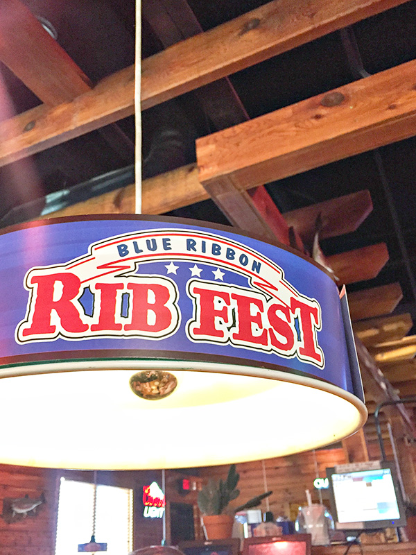 Texas Roadhouse Blue Ribbon Rib Fest