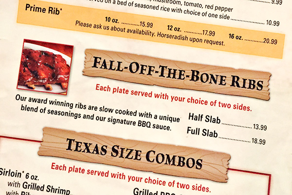 Texas Roadhouse Fall-Off-The-Bone Ribs