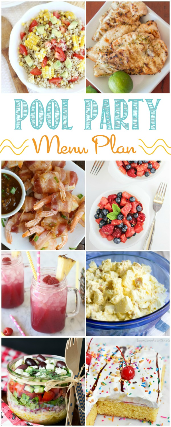 Easy Summer Pool Party Menu Ideas