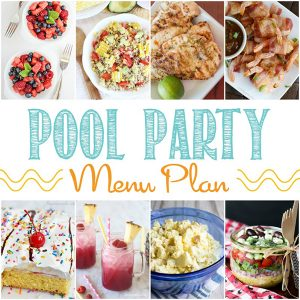 12 Easy Summer Pool Party Menu Ideas