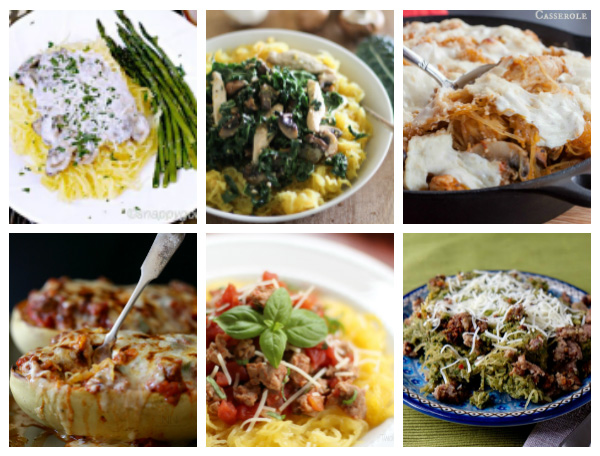 15+ Easy Spaghetti Squash Recipes