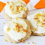 Carrot Cake Mix Cookies with Cream Cheese Frosting Recipe