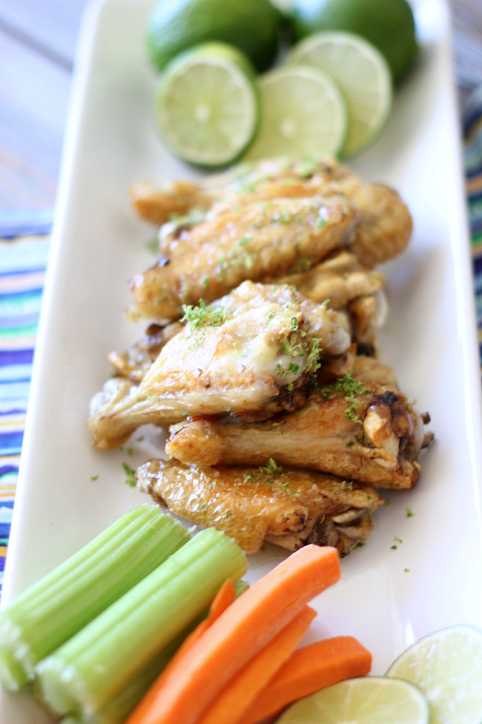 Margarita Lime Wings Recipe by Around My Family Table